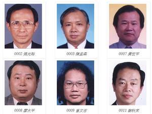 臺中縣建築師公會會員錄